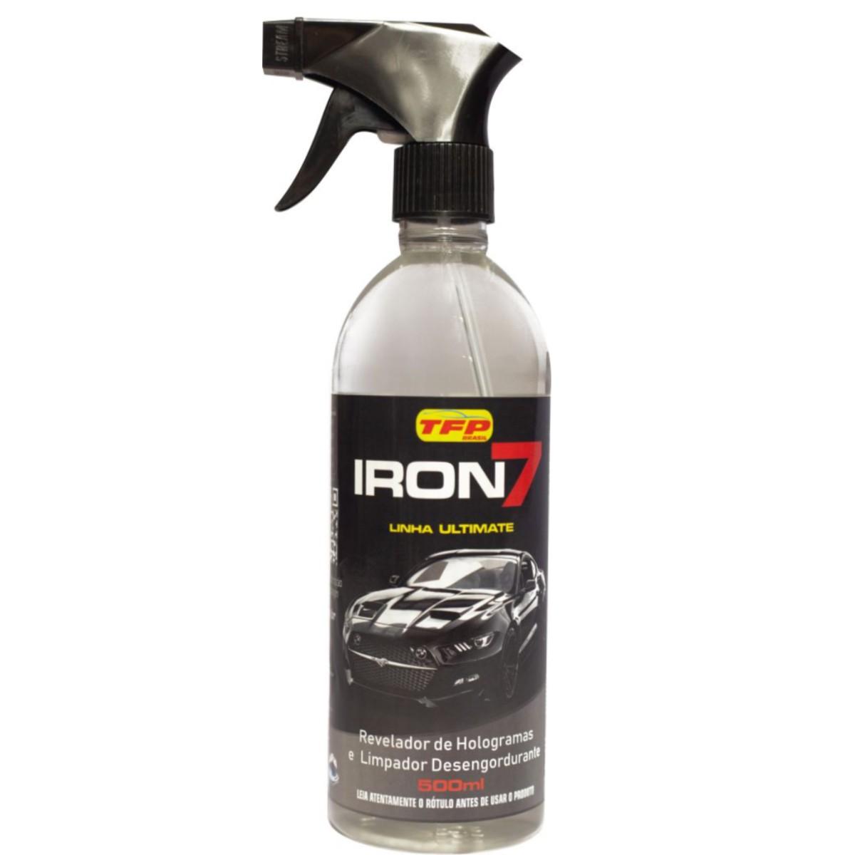 Vitrificador Automotivo de Pintura 30 ml+ Iron7 Revelador Holograma