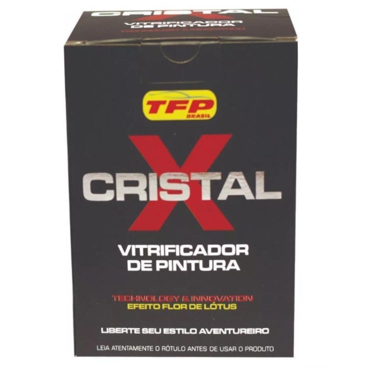 Vitrificador Automotivo De Pintura Cristal X 30ML