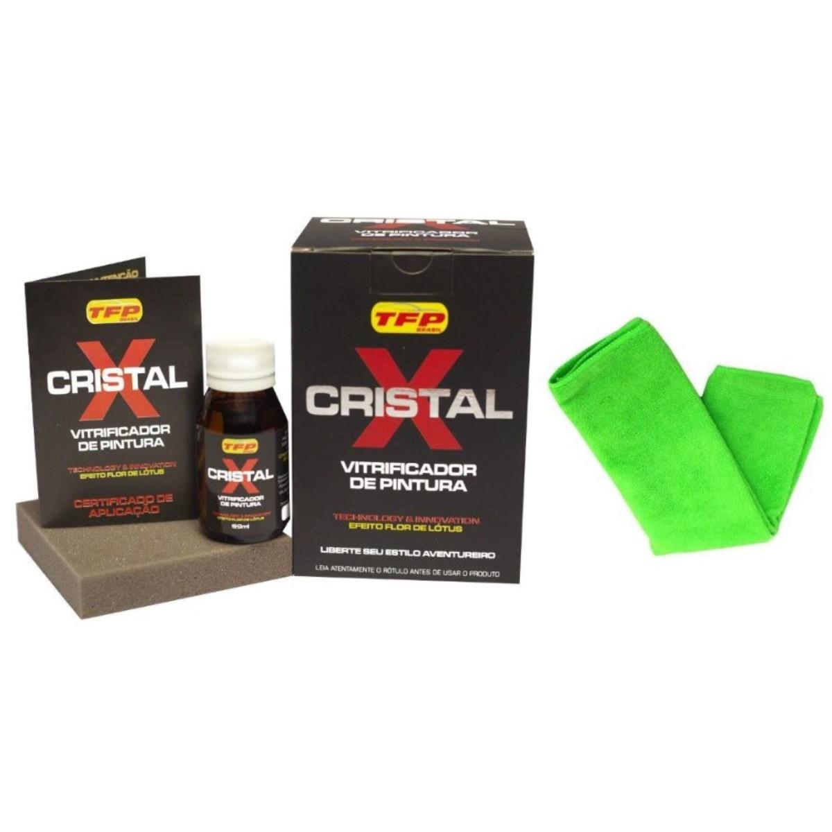 Vitrificador Automotivo De Pintura Cristal X 50ML