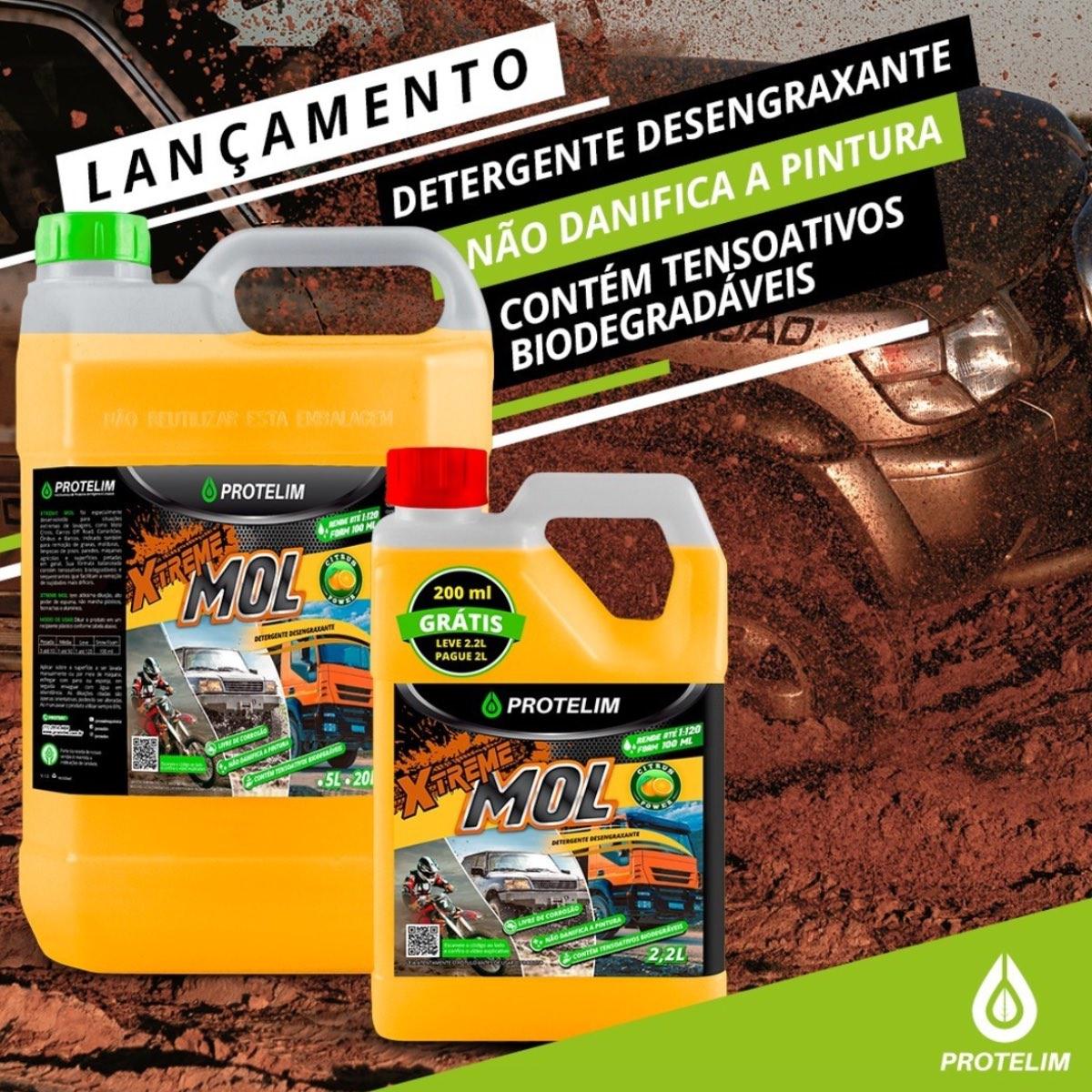 Xtreme Mol Detergente Desengraxante Automotivo Protelim 2,2L