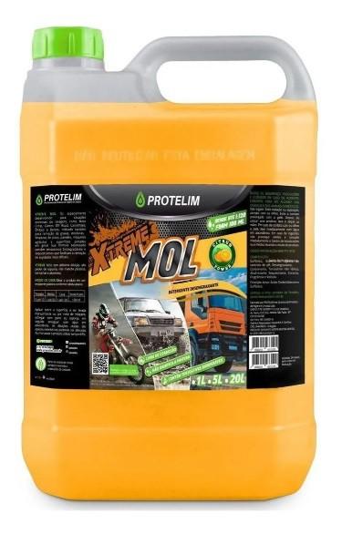 Xtreme Mol Detergente Desengraxante Automotivo Protelim 5L