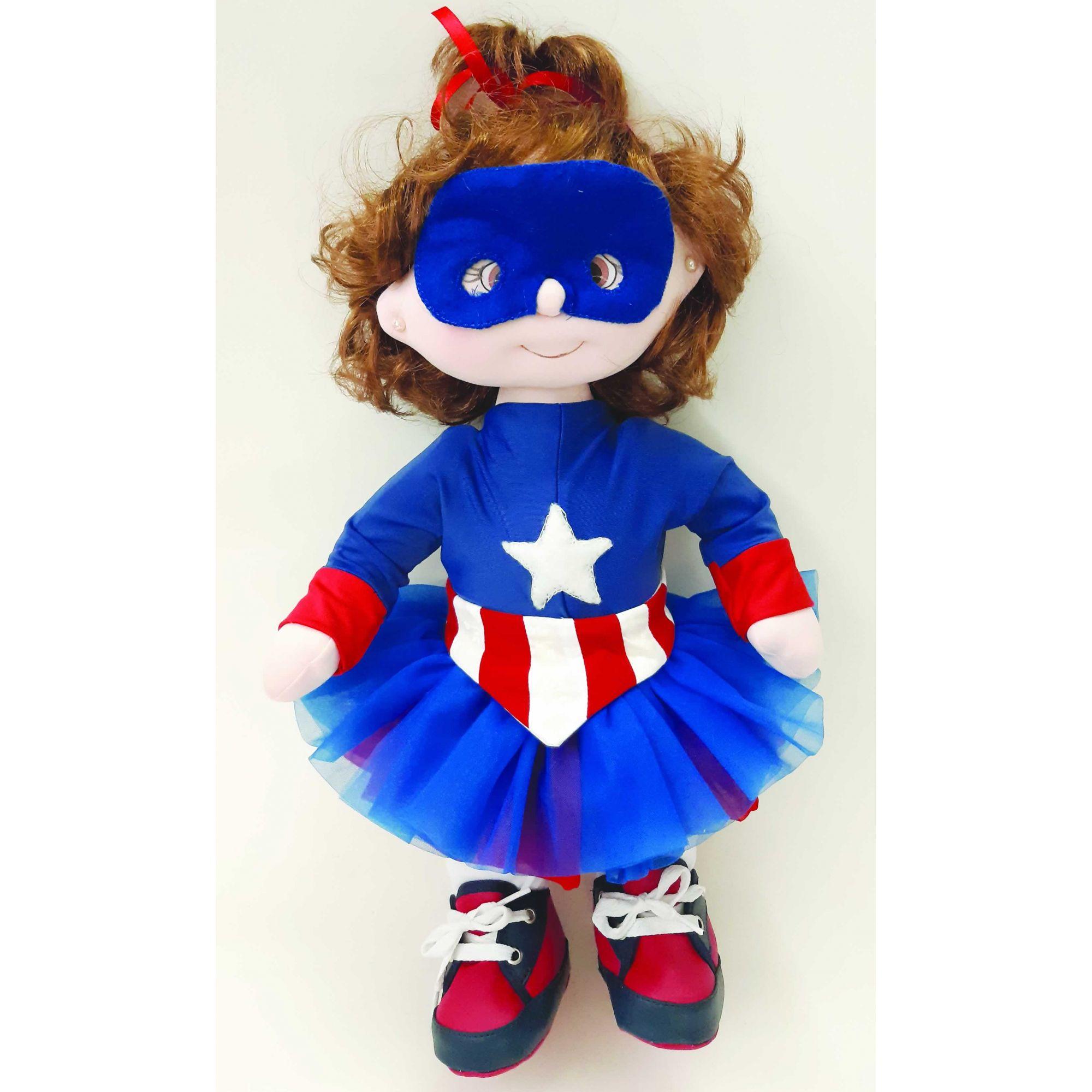 Projeto Bebê Capitã América