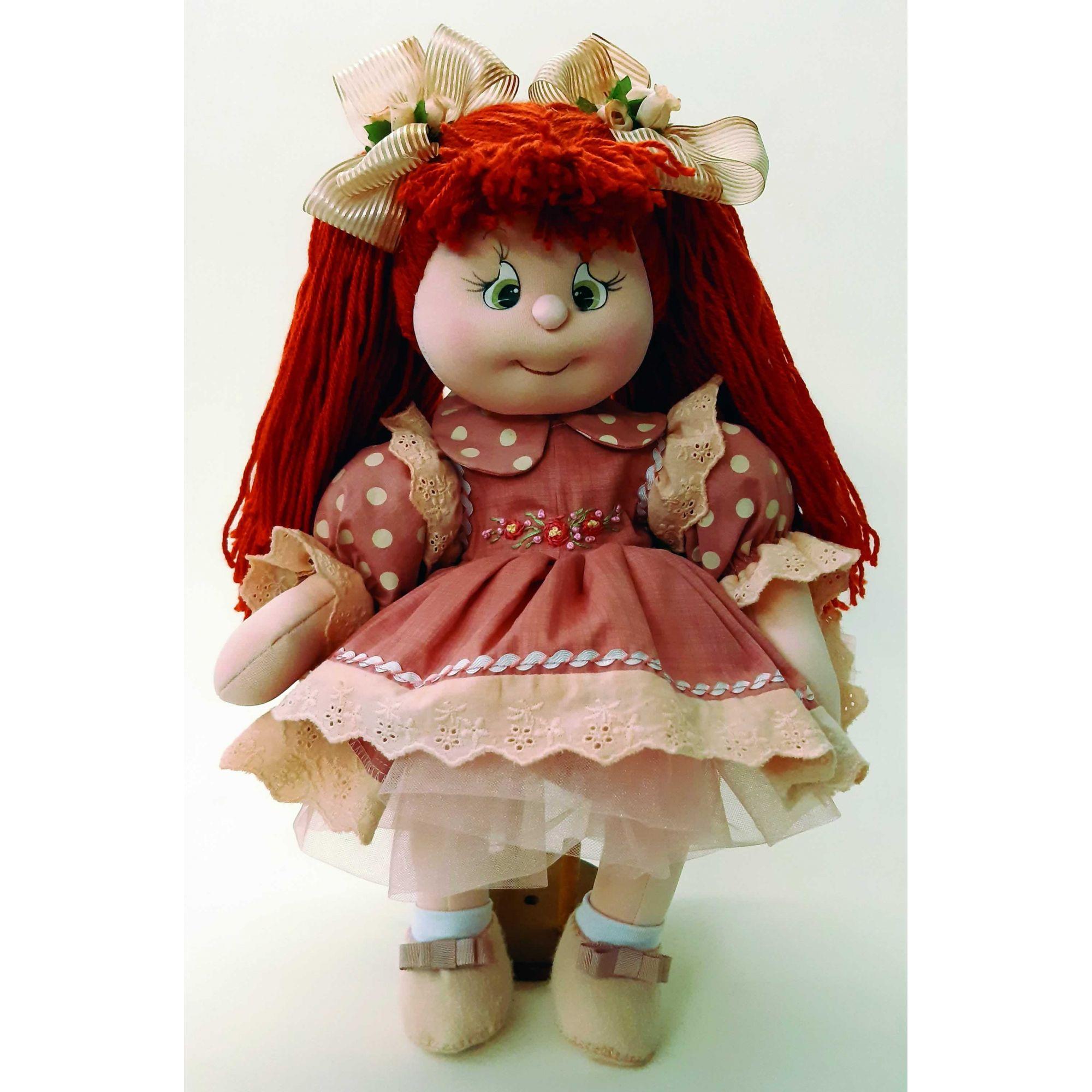 Projeto Boneca Modelada Fiorela