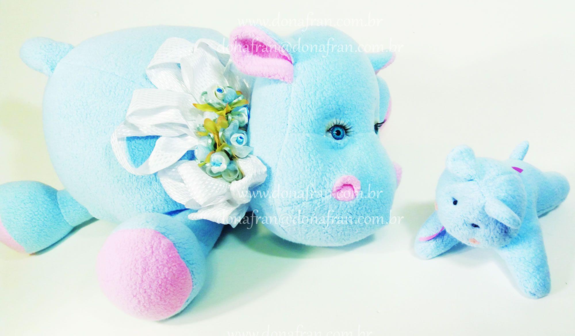 Projeto Hipopótama com Bebê