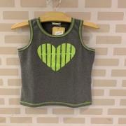 Blusa Coração Neon 1+1