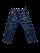 Calça Jeans com Lavagem Elastano 1+1