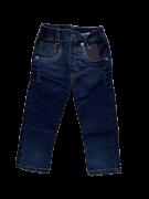 Calça Jeans Escuro com Lavagem 1+1