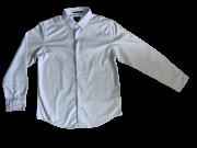 Camisa Tecido M/L Lisa Azul Claro VRK