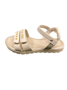 candy sandália nude pampili