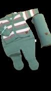 Saida De Maternidade Verde Kit Fofo