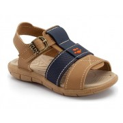 sandália casual duas cores - klin