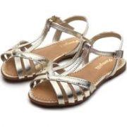 sandália cherrie dourada pampili