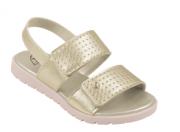 sandália dourada candy - pampili