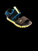 Sandália Velcro Naval Amarelo Fluor - Bibi