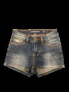 Short Jeans com Lavagem Calvin Klein