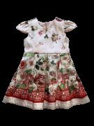 Vestido Flores Rosa 1+1