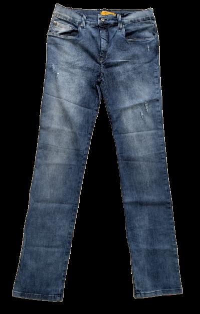 Calça Jeans com Lavagem Clara VRK