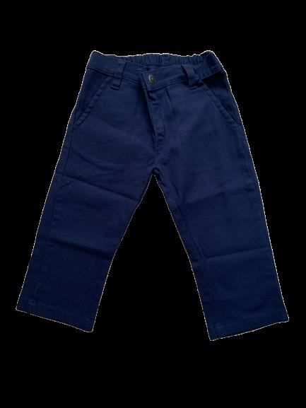 Calça Reta Azul 1+1
