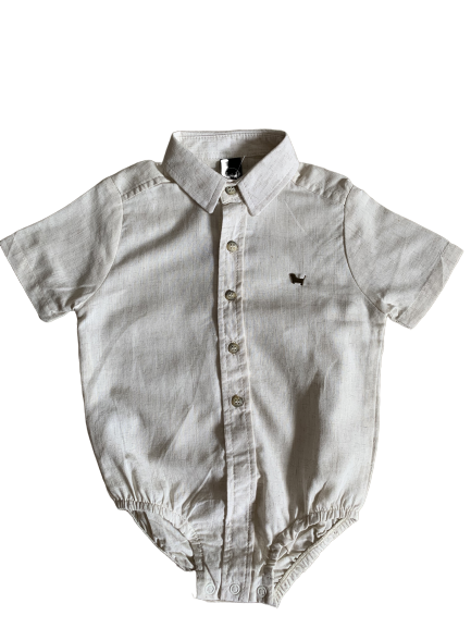 Camisa Social Body Baby Crua 1+1