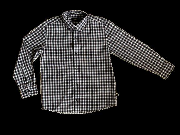 Camisa Tecido M/L Quadriculada VRK