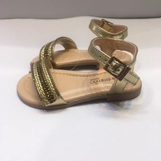 Sandália Contramão Dourada