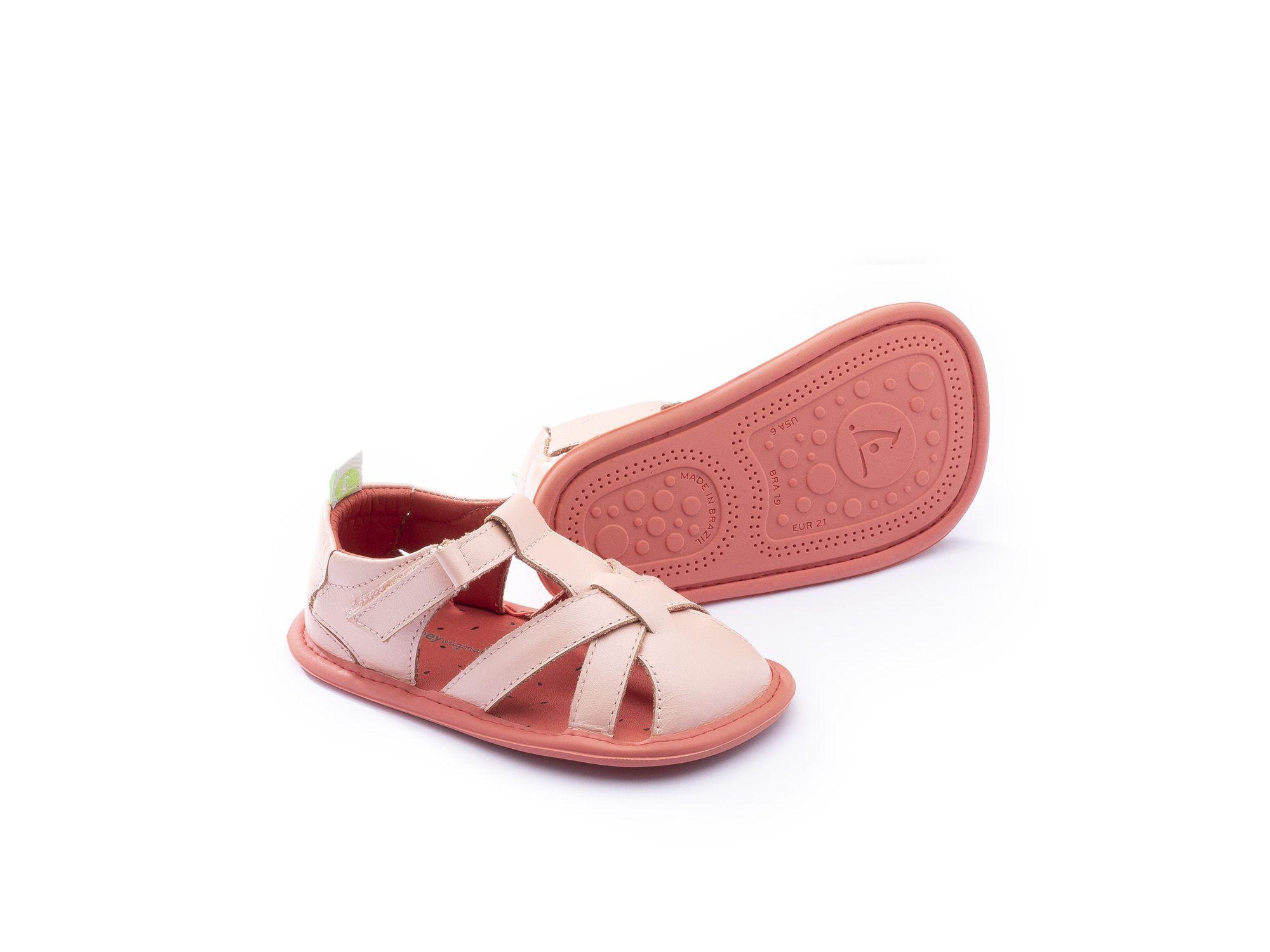 Sandália Truly Pink Tip Toey Joey