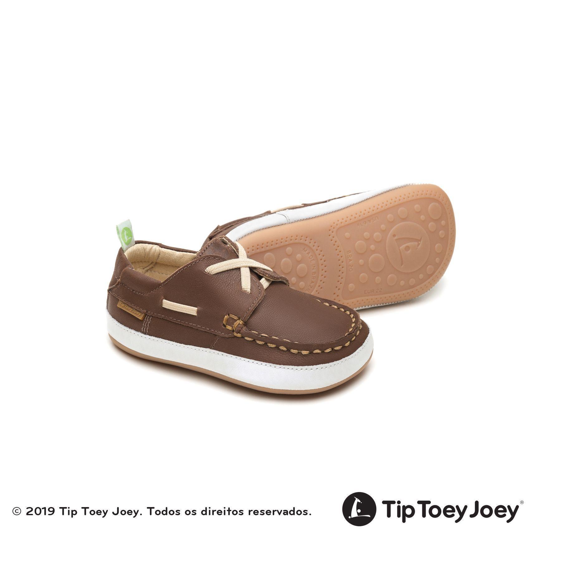 sapato baby size marrom  -  tip toey joey