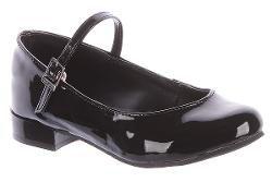 Sapato Boneca Saltinho Preto Contramão