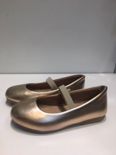 Sapato Boneca Verniz Cobre Hobby