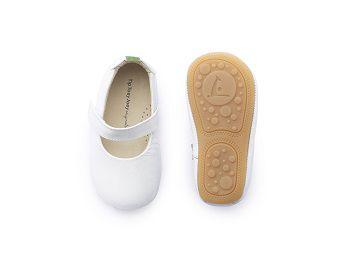 sapato branco verniz dolly-  tip toey joey