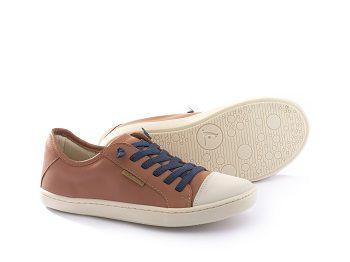 Sapato Casual Funk Caramelo Tip Toey Joey