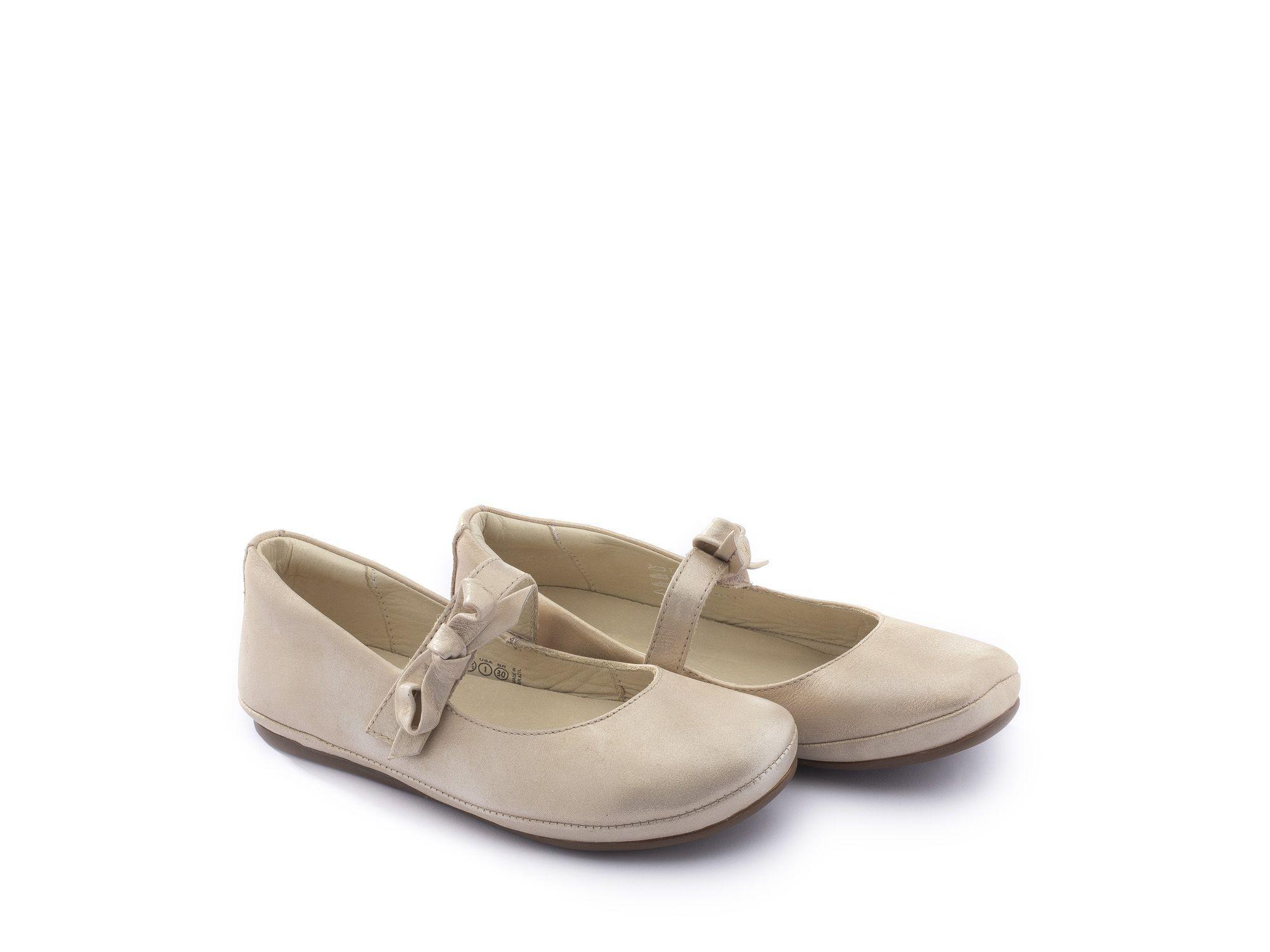 Sapato Couro Cotton Candy Laço Doroth Tip Toey Joey