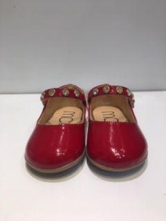Sapato Vermelho Verniz com Pedras