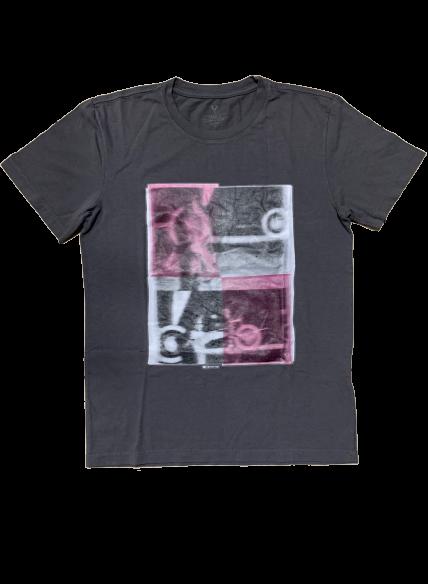 T-shirt Estampada 3D Gola Careca VRK