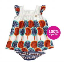 vestido bebê feminino - precoce