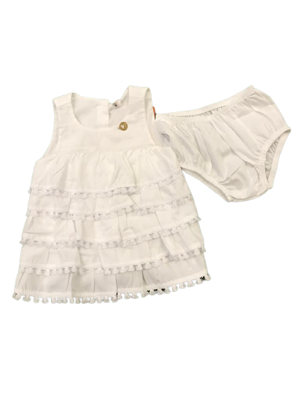 Vestido Branco - Precoce