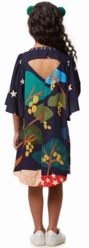 Vestido Carambola com Mala CamuCamu