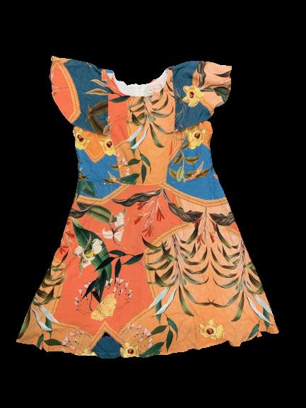 Vestido Estampado Florido Doce Maria
