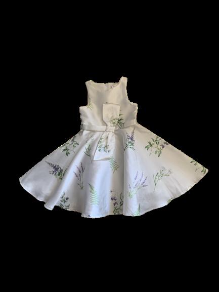 Vestido Flores Lavanda Petit Cherie
