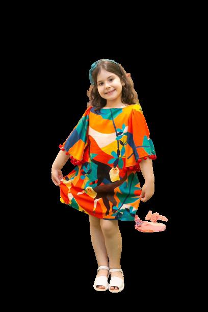 Vestido Multicolorido - Camu Camu