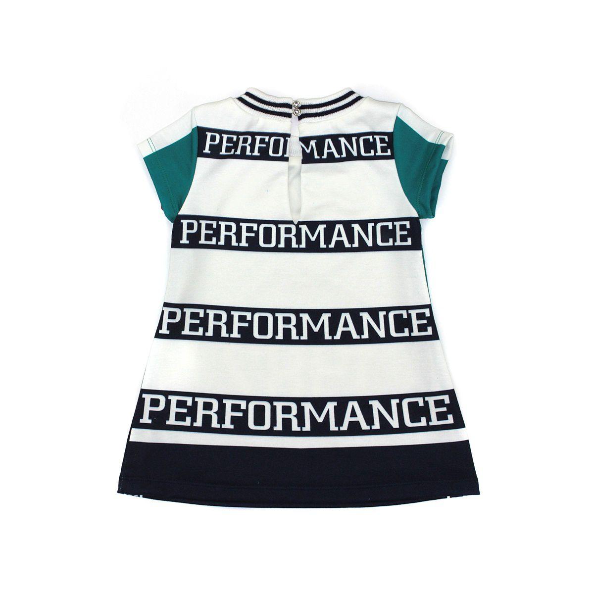 Vestido Performance Verde 1+1