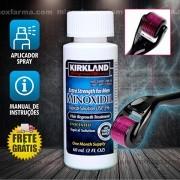 (Combo) 1 Frasco Minoxidil + 1 Dermaroller 0.25mm (PRONTA ENTREGA) Frete Grátis*