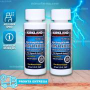 Minoxidil Kirkland 5% 02 Frascos 120ml + Aplicador Spray (PRONTA ENTREGA)