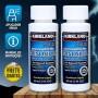 Minoxidil Kirkland 5% 02 Frascos + Aplicador Spray (PRONTA ENTREGA) Frete Grátis*