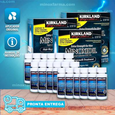 (Promoção) 3 Caixas lacrada Kirkland Minoxidil 5% - (PRONTA ENTREGA)