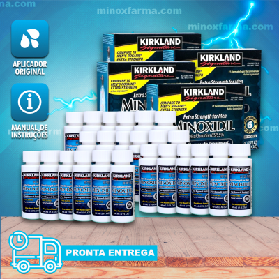 (Promoção) 4 Caixas lacrada Kirkland Minoxidil 5% - (PRONTA ENTREGA)
