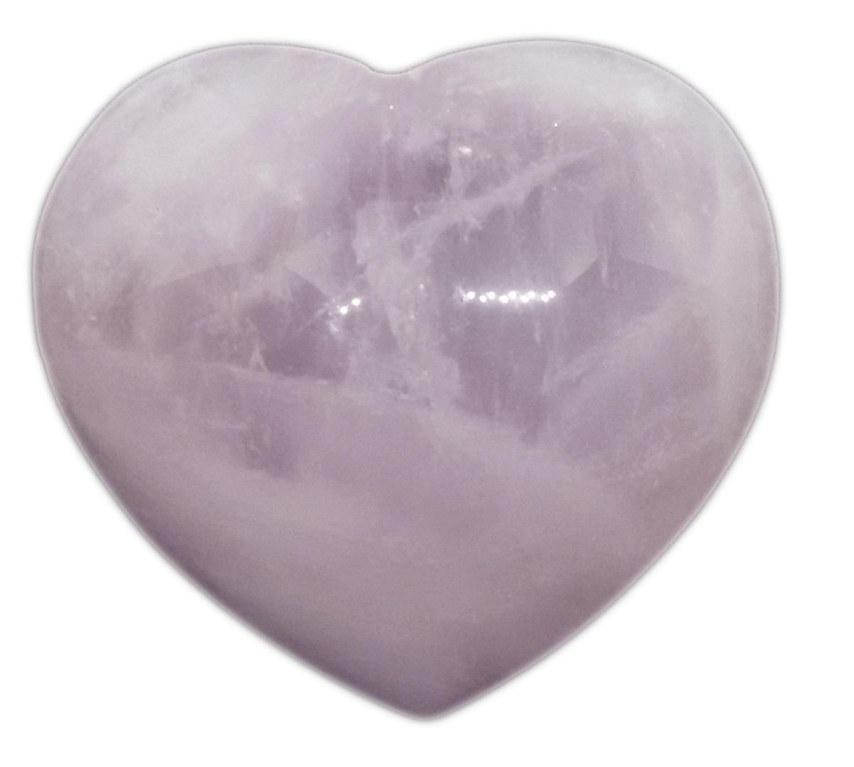 10 Unidades de Coração De Quartzo Rosa Natural Pedra Harmoniza O Amor