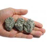 100 Unidades de Pedra Bruta De Pirita Natural