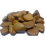 100g de Pedra Rolada De Jaspe Amarela Natural