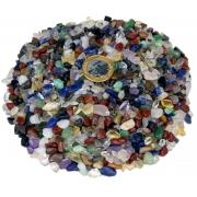 10kg De Cascalho De Pedra Rolada Natural Sortida Mista